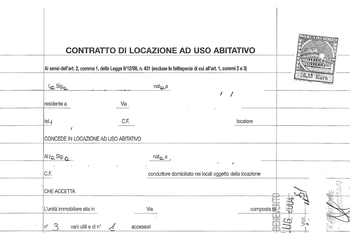 Registrazione risoluzione contratto di locazione agsimplex for Contratto di locazione arredato