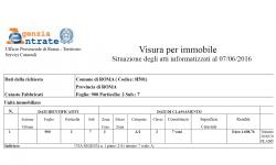 Visura Catastale Certificata