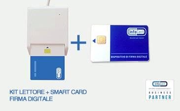 Firma digitale CNS con Lettore Smart Card