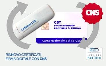 Dispositivo di Firma con Certificato CNS